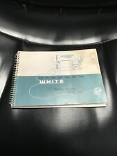 New listing White Model 967 Instruction Book