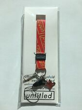 "Arashi 2017-2018 Live Tour ""Untitled"" Official Goods-Neck Strap Red(NEW)"