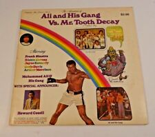 SALE!! ALI AND HIS GANG VS TOOTH DECAY LP VINYL RECORD WITH SLEEVE
