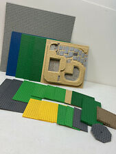 Huge LEGO Base Plate And Unique Plate Lot Used And Cleaned