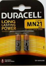 10 x Duracell MN21 MN 21 V23GA A23 12V Alkaline NEU Blister
