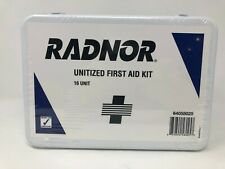 Radnor 64058025 16 Person Unitized First Aid Kit In Metal Case