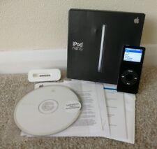 BLACK APPLE IPOD NANO 2GB - 1st Generazione-Boxed