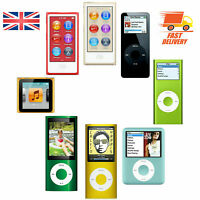 Apple iPod Nano 2nd 3rd 4th 5th 6th 7th ALL COLORS 2GB 4GB 8GB 16GB WARRANTY