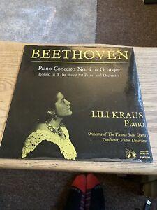 Lili Kraus / Ludwig Van Beethoven - Piano Concerto No. 4 in G Major (LP)