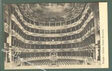 Umbria. PERUGIA. Teatro Morlocchi. Cartolina d'epoca viaggiata.