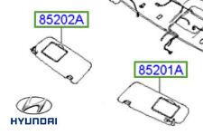 Genuine Hyundai Sonata Sun Visor RH Drivers - 852023K121QS