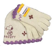 Set invernale Bambina guanti + Cappello Snoopy, Abbigliamento Bimba *09263