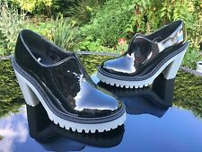 Dr. Martens Cordelia black patent lamper shoe ankle boot UK 3 EU 36 NEW RRP £165