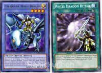 Yugioh Paladin of White Dragon + White Dragon Ritual - Ritual Set