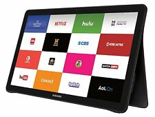 Samsung Galaxy View Tablet 32GB,18.4in,Black & Handmade Prem Leather Case Bundle