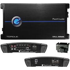 PLANET AUDIO TR5000.1D Torque 5000W Monoblock Class D Amp Remote Woofer Control