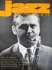 JAZZ HOT N° 225 STAN GETZ ANDRé HODEIR SONNY ROLLINS ILLINOIS JACQUET 1966