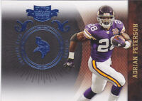 2010 Panini Plates and Patches Platinum #52 Adrian Peterson #/10