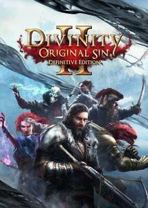 Divinity Original Sin 2: Definitive Edition PC { Read description }