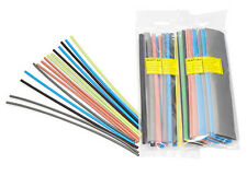 Partex 9.5mm Heatshrink Pack 3 x 250mm of each: Black, Blue, Grey, Brown & Earth