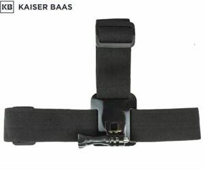 Kaiser Baas Vortex Action Camera Waterproof Head Strap Mount - Black