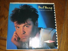Paul Young 45/PICTURE SLEEVE Wherever I Lay My Hat PROMO COLUMBIA