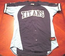 AUTHENTIC RAWLINGS TEXAS TITANS BASEBALL  JERSEY SIZE 42