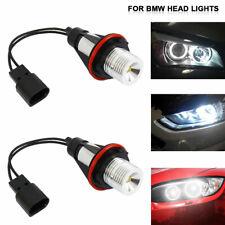 2X Angel Eyes Halo LED Fog Lights Bulb DRL For BMW E39 E87 E64 E53 X5 E83 E63 E6