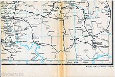 Bucarest București belgrado 1944 ferrocarril-parte tarjeta Београд arad Craiova Brașov