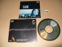 SADE Diamond Life cd 1984 Europe/Japan cd Ex  condition
