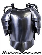 NEW MEDIEVAL BREAST PLATE ARMOR SHOULDERS FLUTE ARMOR BREAST SUIT FOR SALE KHJ