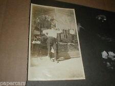 Vintage 1910s photo Hamilton book store ansco camera pathephone record player