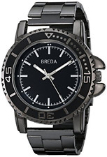 "Breda Men's 8175 Black ""Eddie"" Watch"