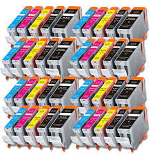 40 PK New Ink Set + Chip for PGI-220 CLI-221 Canon iP4700 MP560 MP620 MX870