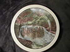 "Vintage Royal Doulton England Weeping Rock in Mountains 10 1/4"" Decorative Plate"