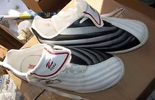 Zephz Youth Girl's Size 5 Black/white/Red Cheerleading Shoes New!