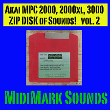 Akai mpc3000  Zip  Disk works with MPC 2000 Hip Hop v2