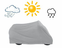 TRIXE Motorcycle Bicycle Outdoor Weather Resistant Bike Cover Grey NEW & FAST