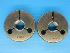 11/16 24 NES THREAD RING GAGES .6875 GO NO GO P.D.'S = .6590 & .6553 TOOLING