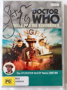 Doctor Who: Delta and the Bannermen DVD - Hand Signed By Sylvester McCoy
