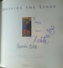 SIGNED Alexandra Nechita 1999 Outside the Lines Book FREE Shipping