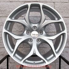 "20"" BMW X5 X6 Staggered Avus AC-MB2 Hyper Silver Wheels Rims Concave"