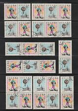 Polen 1852-1853 10 Zusammendrucke Serie gestempelt komplett mit 2x PF