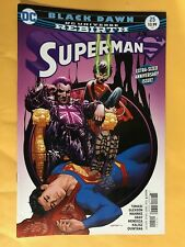 SUPERMAN #25 REBIRTH 1ST PRINT DC COMICS (2017) BLACK DAWN SUPERBOY
