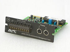 APC AP9612TH SMARTSLOT MONITORING CARD REMOTE CONTROL IS10KG IS20 IS30 IS60 O349