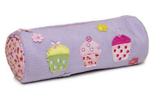 10 x Job Lot Girls Lilac Cupcake Pencil Cases Gift Party Bag PC-8094 By Katz