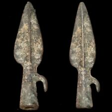 Rare Ancient Roman Bronze Period Longshot Arrow Head 300 Bce (3)