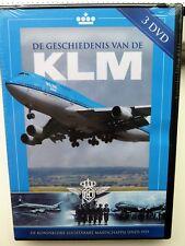 De Geschiedenis van de KLM (3 DVD Box ) nieuw in seal