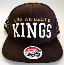 reputable site 99ddb d7b9a NHL Los Angeles Kings Embroidered Adjustable Snap Back Cap