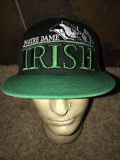 Notre Dame Irish New Era NCAA Vintage Snapback Trucker Hat Baseball Cap Retro