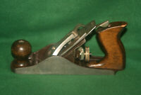 "Fine Clean Antique Vintage Worth  9-1/2"" Smooth Woodworking Plane Inv#VD61"
