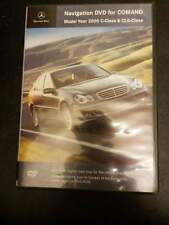 Navigation Dvd For Command: Mercedes-Benz Model 2005 C-Class & Clk-Class map