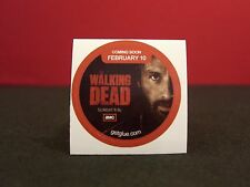 "Walking Dead ""Mid-season 2013"" Collectible New Get Glue Sticker NLA Rick Grimes"