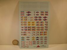 DECALS 1/43 PLAQUES TOUR DE FRANCE AUTO DE 1948 à 1980  - VIRAGES  T225